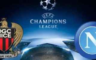 Champions League: nizza  napoli  probabili formazioni