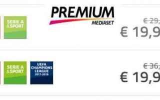 champions league calcio mediaset premium