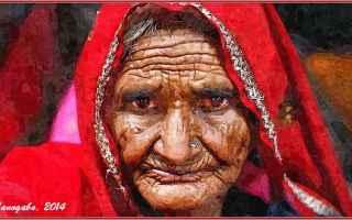 Cultura: vecchi occhi  viso  william shakespeare