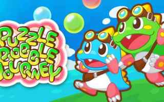 Mobile games: puzzle bobble  bust a move  android  taito