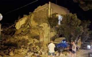 Napoli: Terremoto Ischia, Video dall
