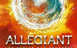 Libri: allegiant  recensione  romanzo  roth