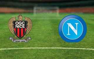 Champions League: napoli  nizza
