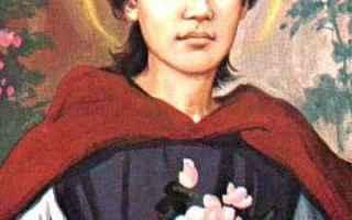 Religione: domenicani  estasi  lima  miracoli