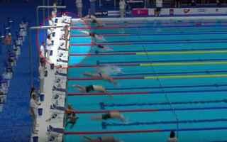 Sport: barcellona  attentato  nuotatore  silenz