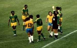 Nazionale: mwepu  zaire  mondiale 1974  punizione