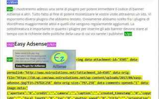 Soldi Online: adsense  seo  plugins  wp  wordpress