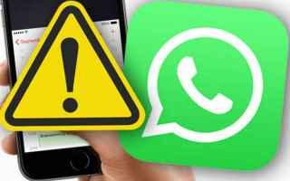 Sicurezza: truffa  whatsapp