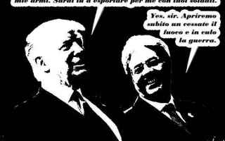 Satira: afghanistan  trump  isis  gentiloni