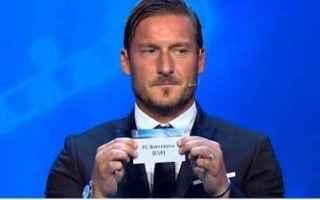 Champions League: totti buffon champions roma juventus