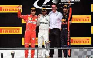Formula 1: formula 1  belgio  gara  hamilton
