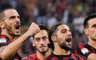 Serie A: milan  bonucci  donnarumma  calcio