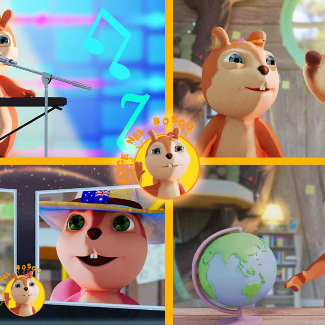 cartoni animati  vlogs  scoiattolo