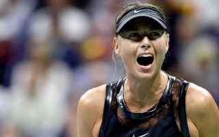 Tennis: tennis grand slam sharapova  us open
