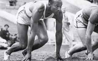 Atletica: jesse owens  olimpiadi  berlino  hitler