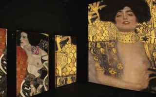 Arte: klimt experience  arte a milano  mudec