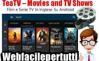 File Sharing: teatv  app  android  film  serie tv