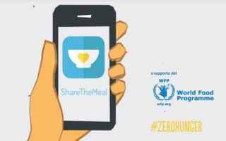 App: sharethemeal  bambini  fame  donazione