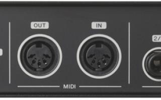 Audio: midi  protocollo midi  produzione musica