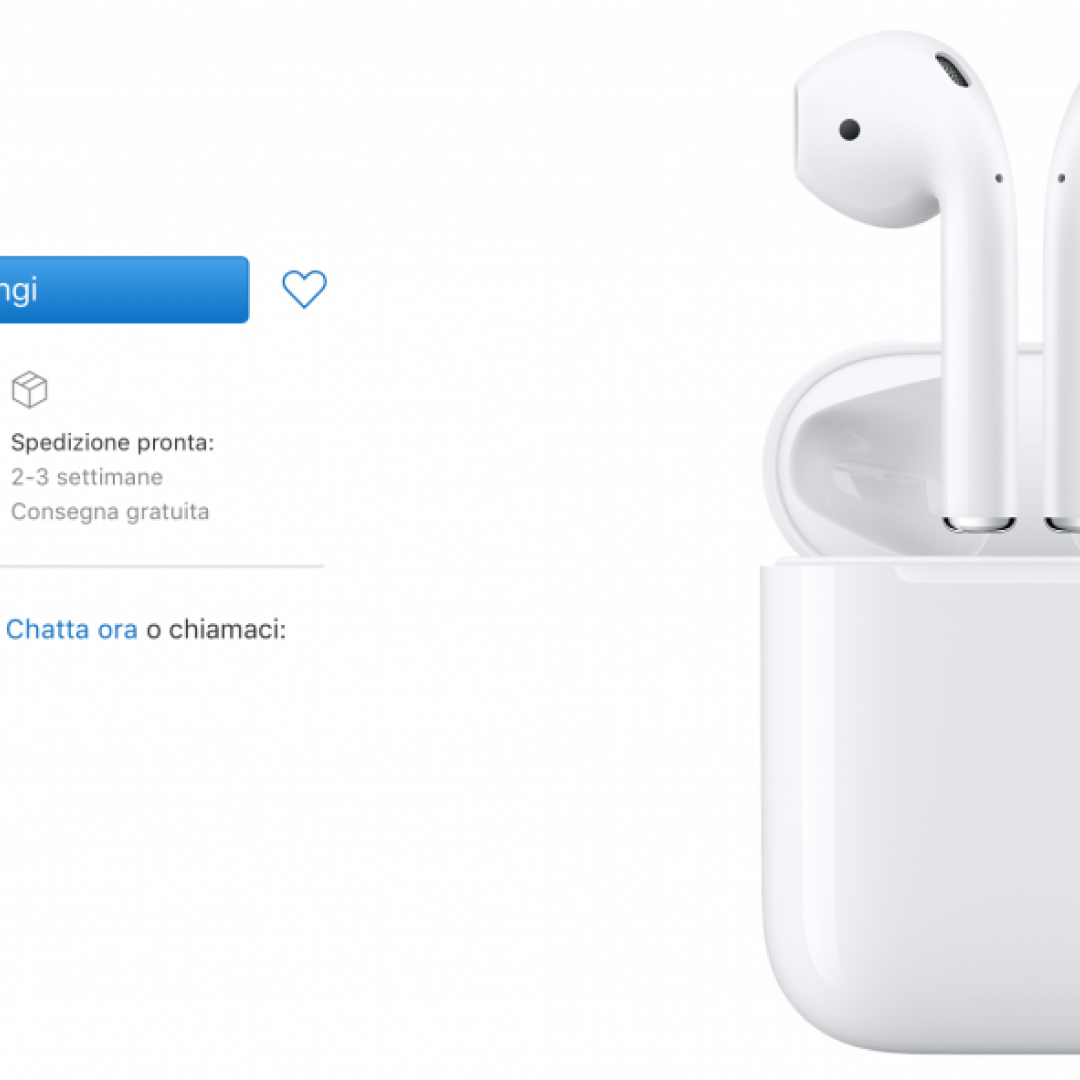 airpods  consegne  apple
