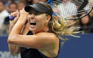 Tennis: tennis grand slam sharapova us open