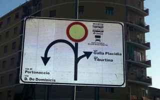 Roma: multe  portonaccio  roma