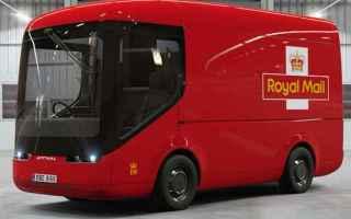 furgone elettrico  royal mail  posta