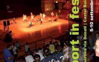 Bologna: castel bolognese  festa  sport