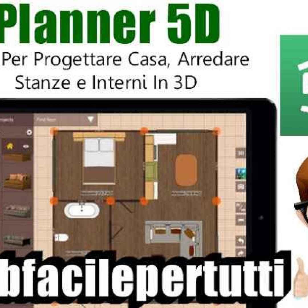 Planner 5d applicazione per progettare casa arredare for App arredamento