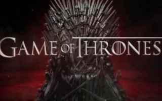 Serie TV : serie tv  il trono di spade  tv