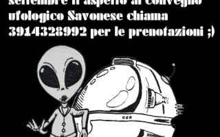 Notizie locali: ufo  convegno  savona  evento