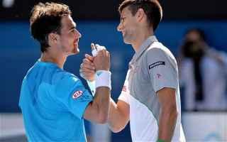 Tennis: tennis grand slam djokovic fognini