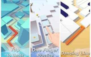 Mobile games: dancing line  giochi mobile
