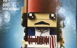 Cinema: pirati dei caraibi  lego  jack sparrow