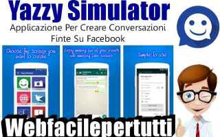 App: chat false facebook app