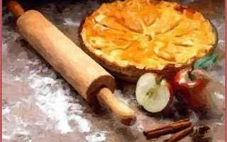 Web Design: elaborazione grafica  torta di mele