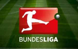 Calcio Estero: bundesliga  3 giornata  partite