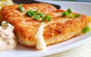 Ricette: smažený sýr  formaggio  street  food