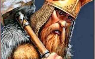 Cultura: mitologia  norrena  odino  thor  tuono