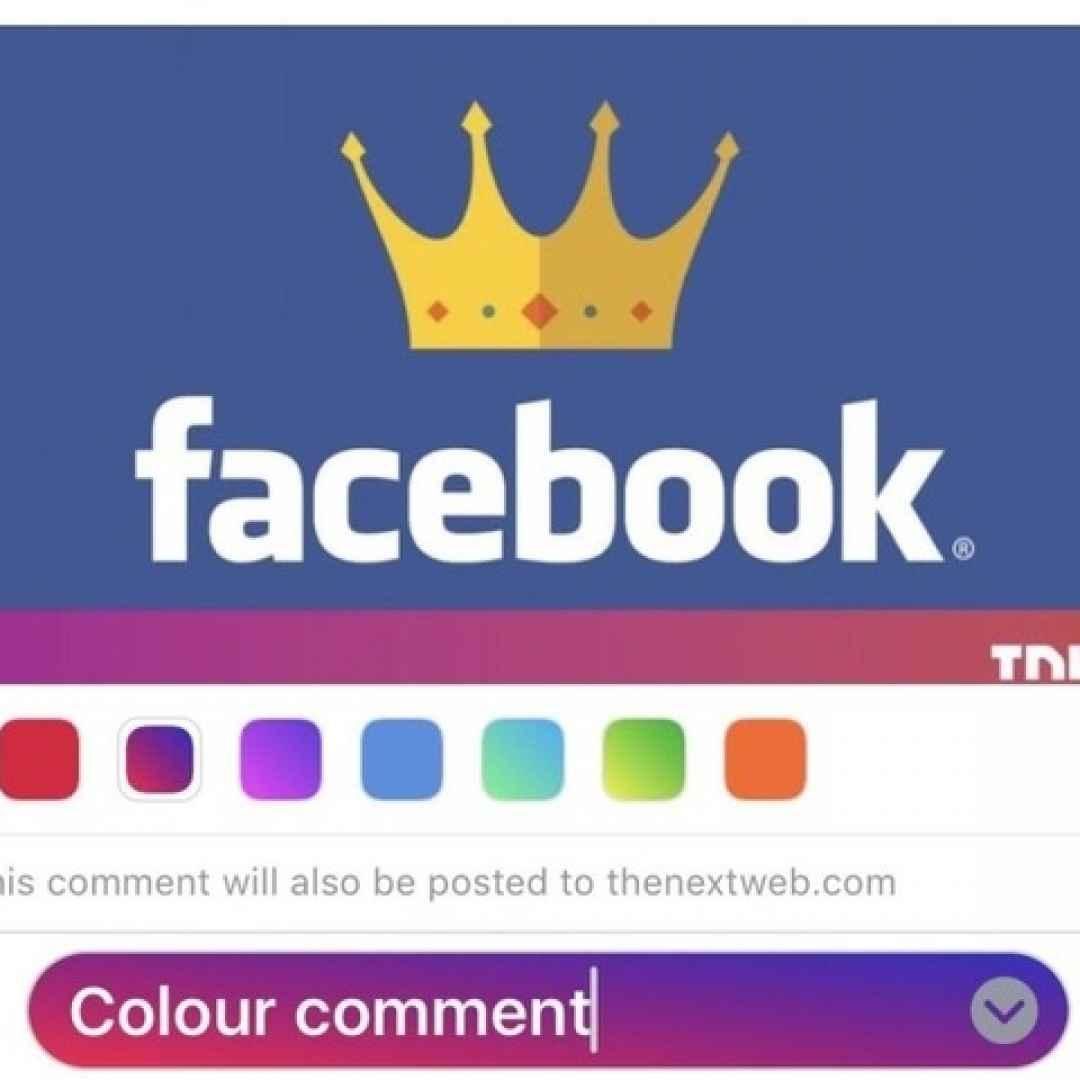 facebook  apps  commenti  menu