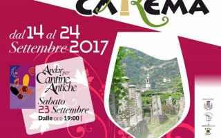 Torino: carema  uva  vino  festa