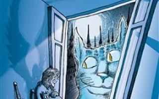 Prendiluna parte con la sua valigia di gatti a cercare nel suo piccolo mondo i giusti, tra la ristre