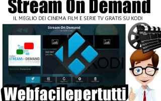 Serie TV : stream on demand  kodi  addon  aggiornament