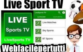 File Sharing: app  livesports tv