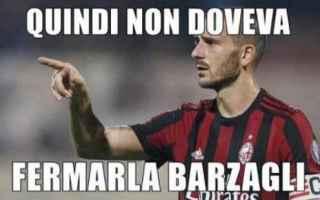 Calcio: bonucci  milan  serie a  news  lazio