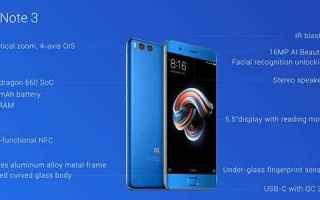Cellulari: xiaomi mi note 3  xiaomi  android  tech