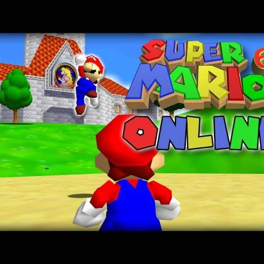 super mario online  multiplayer  game