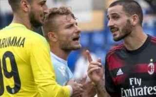 Serie A: bonucci milan calcio serie a  immobile