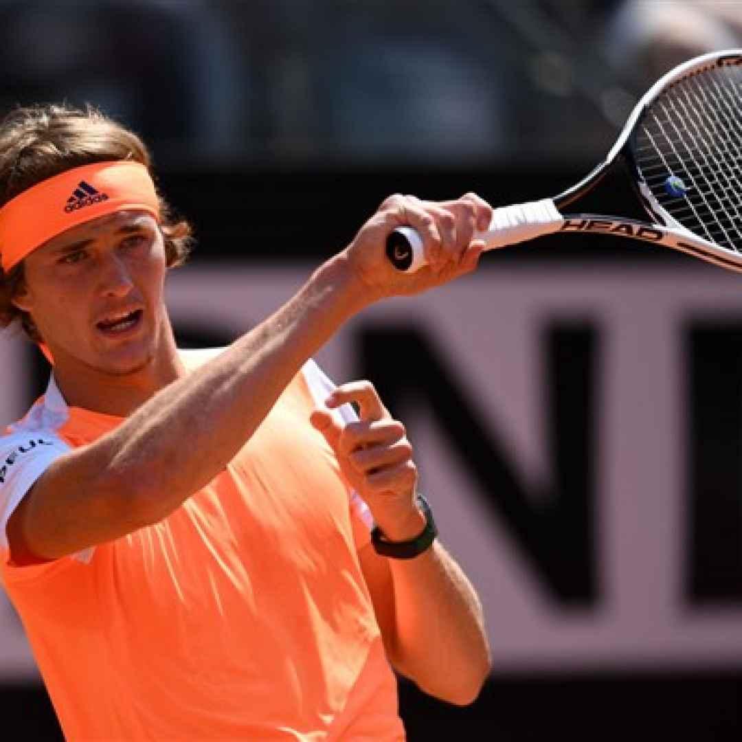tennis grand slam zverev roma