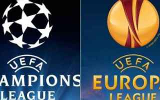Calcio: champions  europa league  scommesse